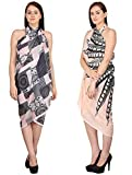 #4: Valentine Sale - Set of two beach wear sarong and pareo for women