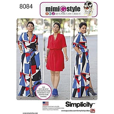 Simplicity Patrons robes de miss et plus pour femme en