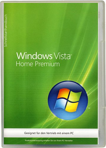Windows Vista Home Premium 64 Bit OEM SP1 (Betriebssystem Windows Vista)