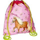 Die Spiegelburg 14524, zaino, borsa, sacca per sport, tempo libero - adatto per bambini - serie: Gli amici dei cavalli