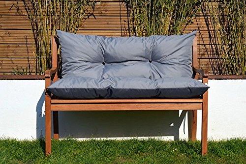 Gartenbankauflage Bankauflage Sitzpolster Bankkissen Sitzkissen Polsterauflage, viele Farben und Grössen leicht zu reinigen