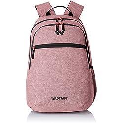 Wildcraft Polyester 28 Ltrs Dark Red School Backpack (Melange 2)