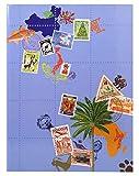 Album de timbres 16 pages globe trotter - 16,5x22,5cm