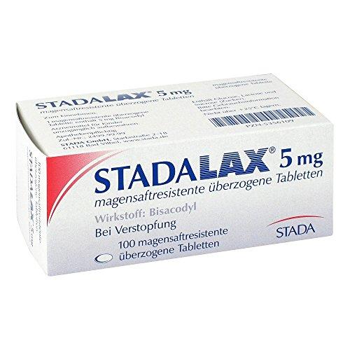 STADALAX 5 mg magensaftresist.überz.Tabletten 100 St Tabletten magensaftresistent