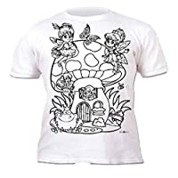 armona Childrens Colouring Pens Paint Fabric T Shirt Tee Craft Stocking Filler