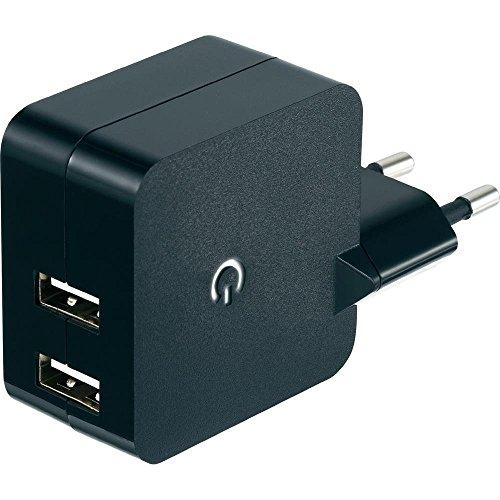 Chargeur USB VOLTCRAFT SPS-2400/2 Courant de Sortie (Max.) 2400 mA 2 x USB