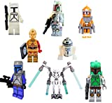 8 x Set Star Wars: The Last Jedi Custom Rogue One Minifigure Captain Phasma Minifigures