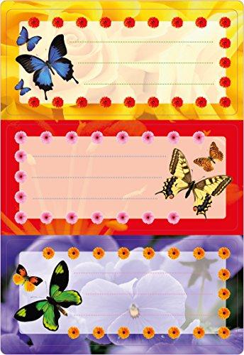 HERMA 5574Nombre cuaderno etiquetas Escuela, diseño