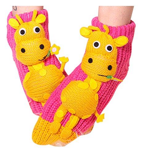 Damen-rutsch-griffe (Herren Damen Socken, Lustige Nette Pet 3D Kleiner Esel Muster Cartoon Süße Design, komfortable Baumwollmischung Boden Socken)