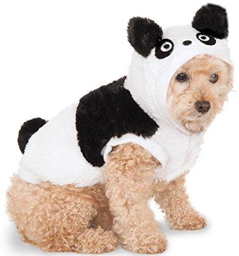 Rubies Panda Bear Pet Hoodie (Kostüm Bear Hund Hoodie Panda)