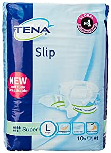 TENA Slip Super with ConfioAir- 10 Pcs (Large)