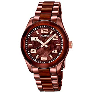 Reloj Calypso de mujer–Trend–Analog–Cuarzo–Plástico–uk5648/8