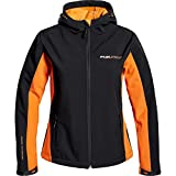 FLM Softshell-Jacke Freizeit-Jacke Sports Damen Softshelljacke 1.0 Orange M