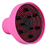 Best Professional Hood Hair Dryer - Pink : Silicone Hairdryer Diffuser Folding Hair Blower Review