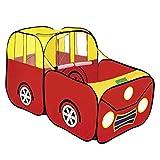 Sharplace Beweglicher Spielzelt Spielhaus Babyzelt Bällebad Kinderzelt | Ideal für Zuhause & im Garten | Tasche | Tunnel