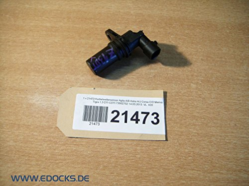 Kurbelwellensensor Agila A/B Astra H/J Corsa C/D Meriva Tigra 1,3 DTI CDTI Opel