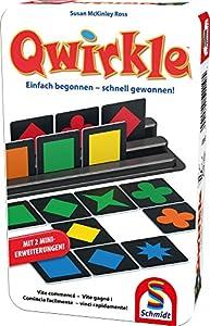 Schmidt Spiele Qwirkle Niños Juego Educativo - Juego de Tablero (Juego Educativo, Niños, 30 min, Niño/niña, 6 año(s), 114 mm)