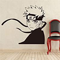 Baobaoshop Japanese Manga Wall Decal Naruto Wall Vinyl Sticker Anime Style Home Interior Removable Decor Custom Decals wall stickers 58 * 65cm