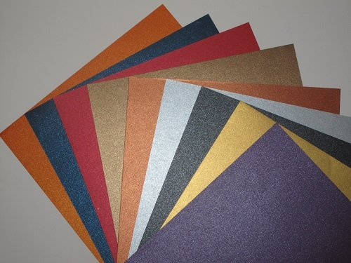 18-x-a4-2-sided-pearlescent-shimmer-paper-125gsm-9-colour-mixed-pack-am379