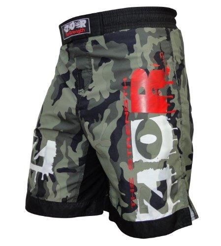 ZOR Pantalones cortos para deportes de contacto, UFC, MMA, lucha, Muay