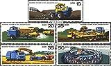 Prophila Collection DDR 2236-2240 (kompl.Ausg.) 1977 Moderne Technik in der Landwirtscha (Briefmarken für Sammler) Straßenverkehr