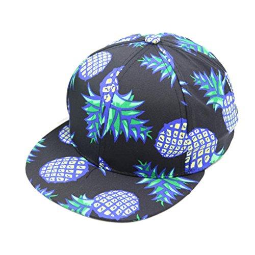squarex 1Ananas Snapback BBOY Hat Verstellbare Baseball Cap Hip-Hop Hat - Bboy-baseball-cap