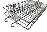 BBQ Rotisserie Basket Cage in Stainless Steel