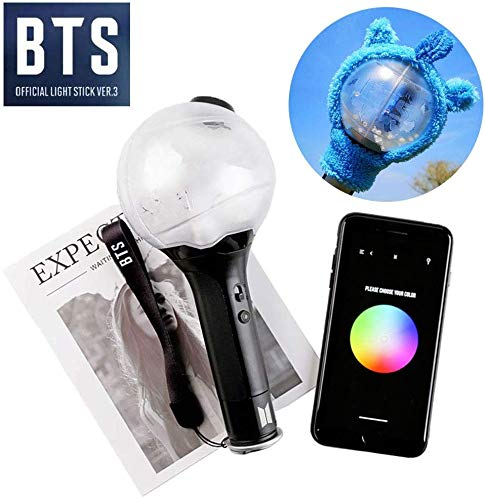 YMJJ KPOP BTS Light Stick Mit Bluetooth Ver.3 Army Bomb Bangtan Boys Concert Lamp,C