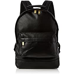 Mi-Pac Mini Backpack Tumbled Mochila Tipo Casual, 33 cm, 10.5 Litros, Tumbled Black