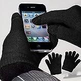 YaYago Écran tactile Gants Noir Taille universelle (env. M–L) pour Samsung...