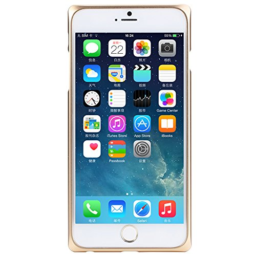 ROCK EVO series metal frame ultrathin aluminum bumper Case for iphone 6 Plus 5.5 Gold  available at amazon for Rs.1104