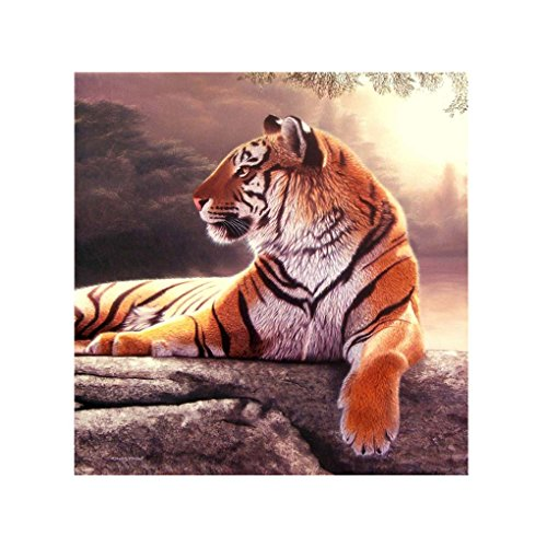 Cdrox 5D Stickerei Needlework Stitchwork Zeichnung Tiger Bild Strass Diamond Gemälde Kreuzstich-Needlework Decor -