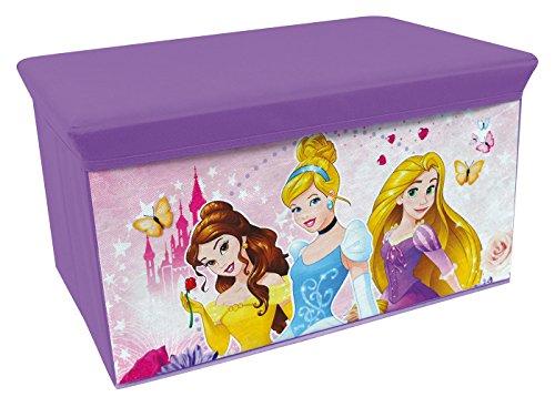 Fun House 712441 - Caja de Juguetes Plegable, diseño de Princesas