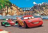 XXL Poster Fototapete Disney Cars 2 McQueen & Bernoulli 160x115cm