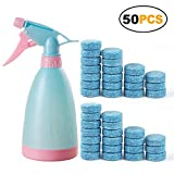 Aubess Spray Flasche Kunststoff Wasser Spray Salon Pflanzen Pet Reinigung Verwenden Garden Home Praktische Easy, Blau, 50