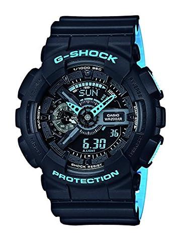 Casio G-Shock - Herren-Armbanduhr mit Analog/Digital-Display und Resin-Armband - GA-110LN-1AER