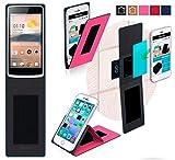 Oppo R2001 YoYo Hülle in pink - innovative 4 in 1