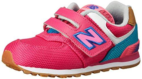 Infant Schuhe New Balance (New Balance Mädchen NBKG574T4I Lauflernschuhe, Pink-Rosa (Pink Bleue), 27 1/2 EU)