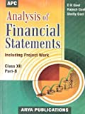 Analysis of Financial Statements(Including Project Work) Part-B - 12