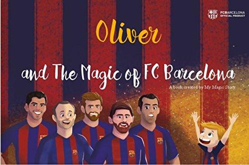 de748b436 The Magic of FC Barcelona - Personalised Children s Book