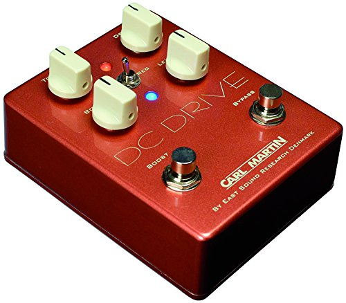 Carl Martin DC Drive - Pedal de efectos para guitarra eléctrica (overdrive y boost)