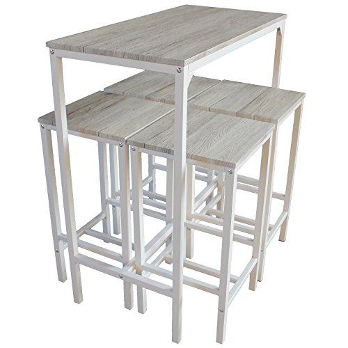 Tavolo sgabelli tavolo consolle con aletta e sgabelli - Tavoli alti da bar con sgabelli ...