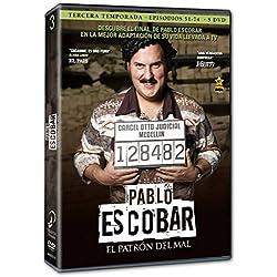Pablo Escobar: El Patrón Del Mal - Temporada 3 [DVD]
