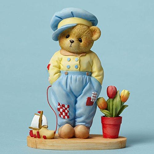 ENESCO Cherished Teddies Collection Bär Verkleidet als Dutch Figur, 10,8cm