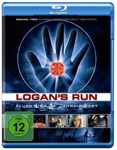 Logan's Run - Flucht ins 23. Jahrhundert [Blu-ray] (Beängstigend Menschen Alten)