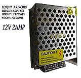 #6: NIRMALS 12V 2amp 24 watts DC SMPS POWER SUPPLY For LED Strip Light, CAMERAS 12v 2a (12v 2a)