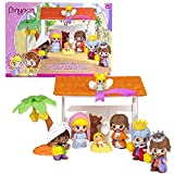 Pinypon Belén, Set de muñecas, (Famosa 700013091)