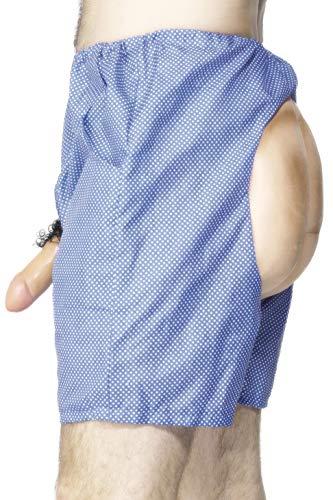 Smiffys - Unterhose Shorts Po und Willy ()