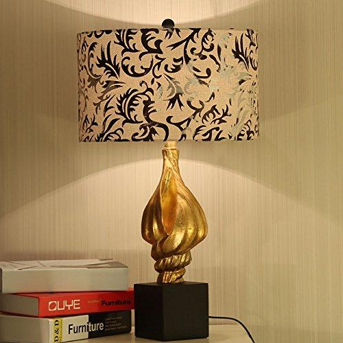 Jack Mall Salon chinois moderne décoré lampe de table Village américain élégant lampe torche or mode simple livre lampe de bureau