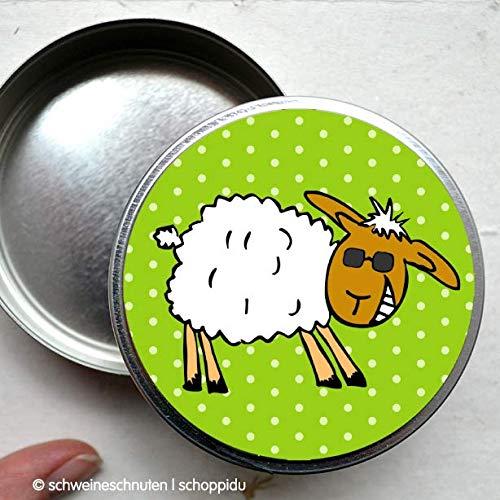 Dose Freches Schaf mit Sonnenbrille